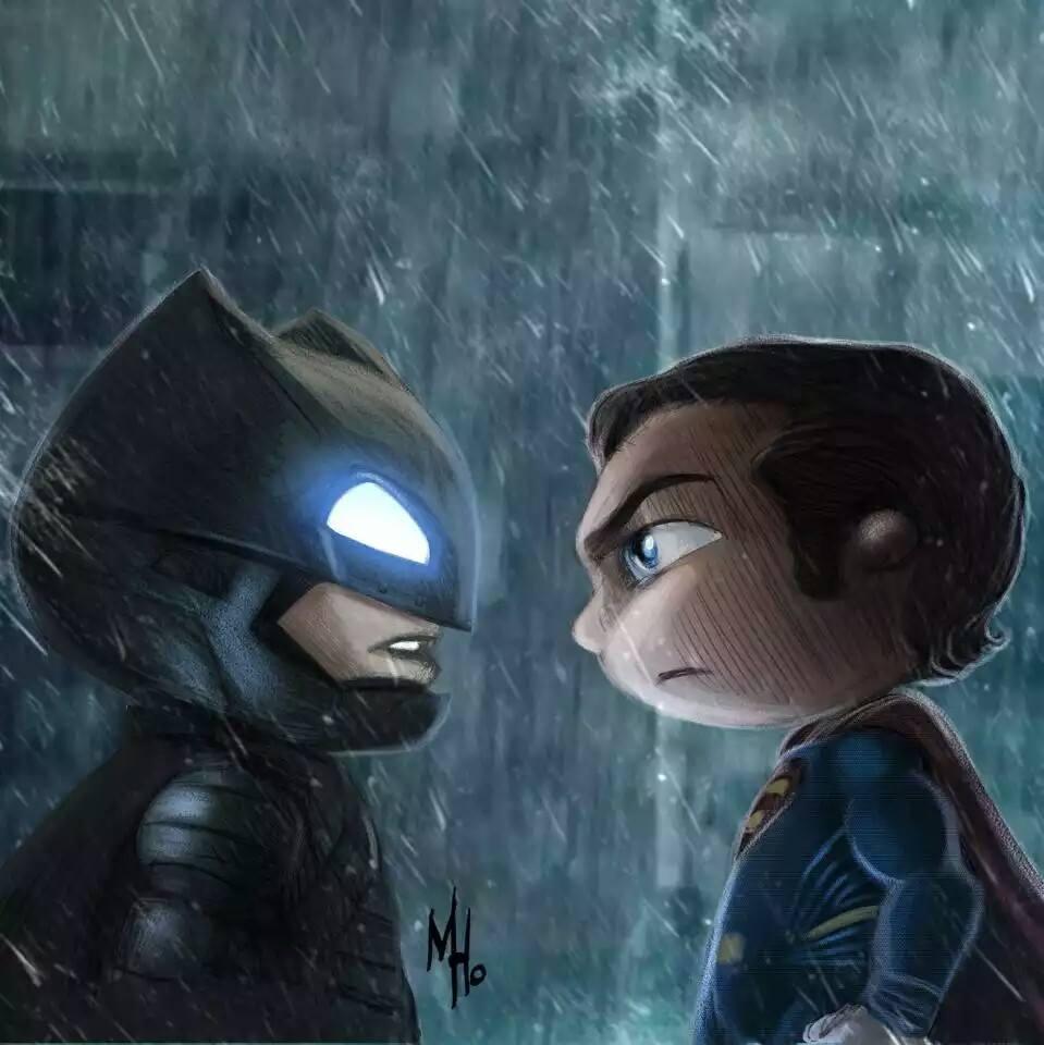 Awesome 'batman Vs Superman' Fan Art Collection Lazyfatgeek