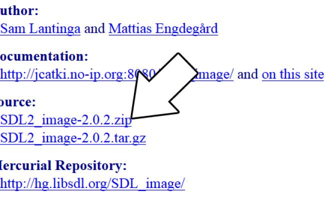 Lazy Foo Productions Setting Up Sdl Image On Mac