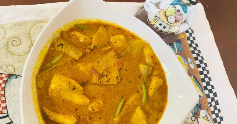 Vegetarian Fish Curry