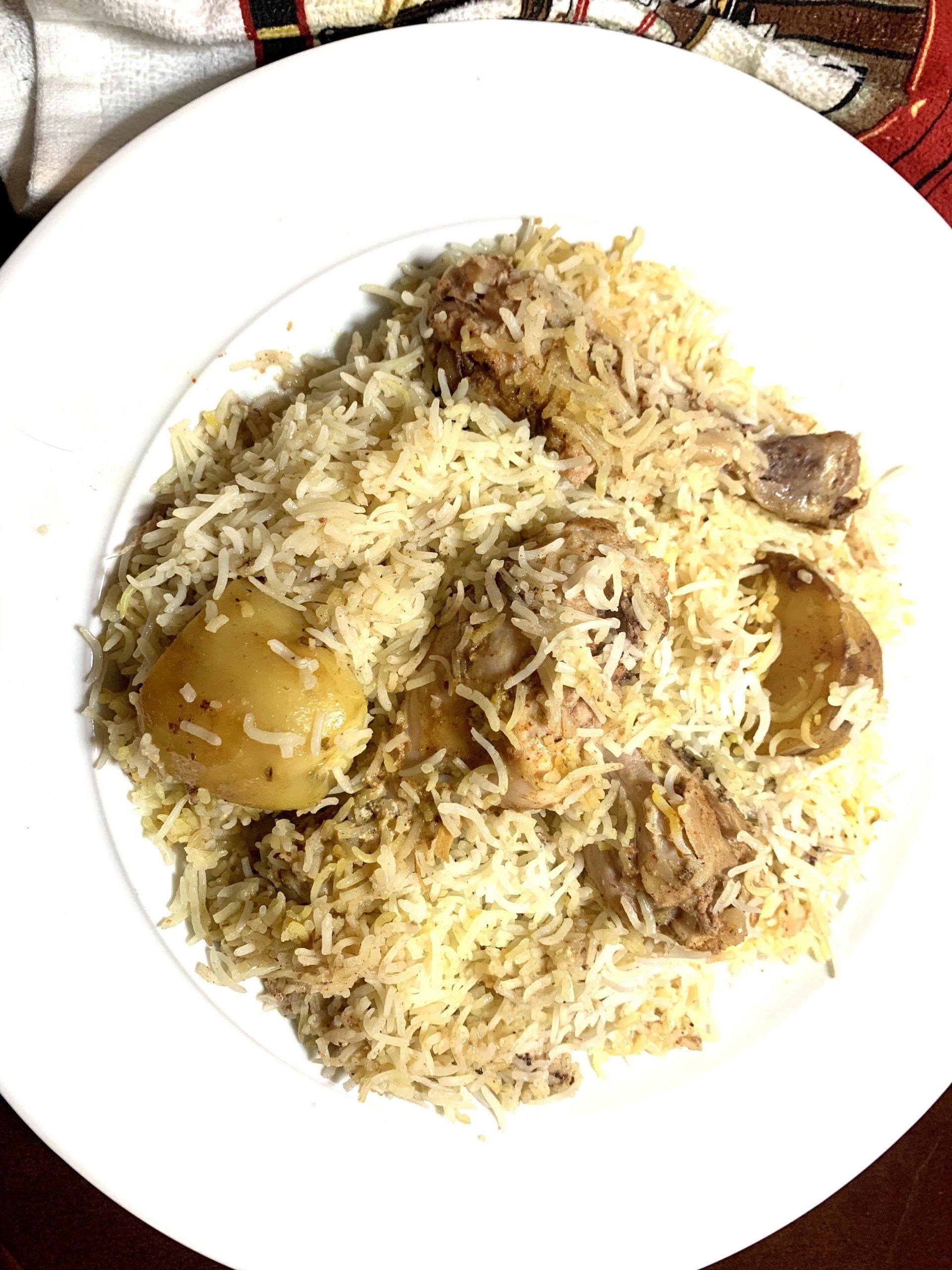 Kolkata Style Chicken Biriyani