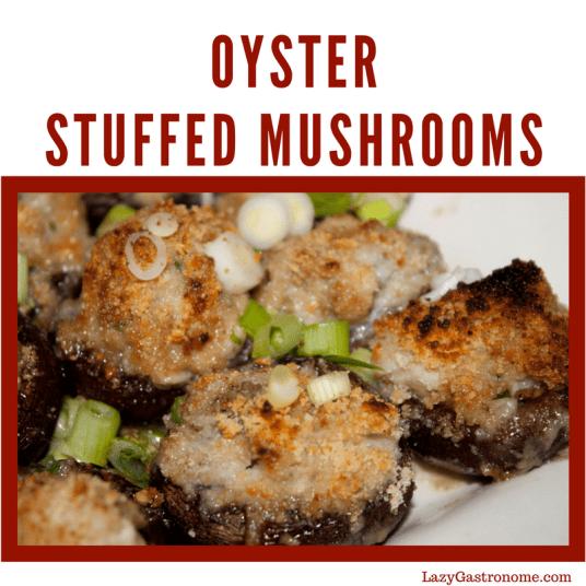 oyster stuffed mushrooms