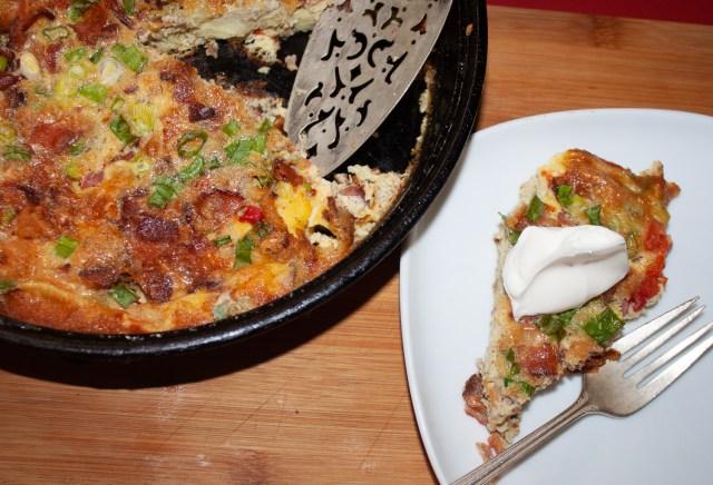 frittatta served