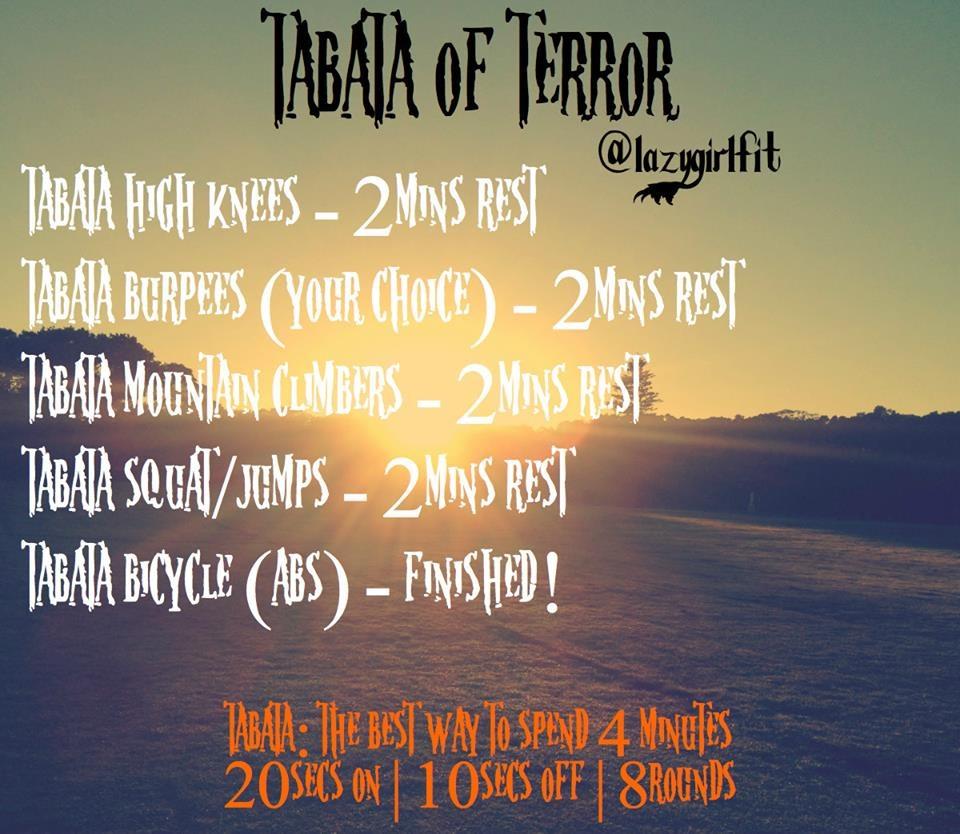 Tabata of terror