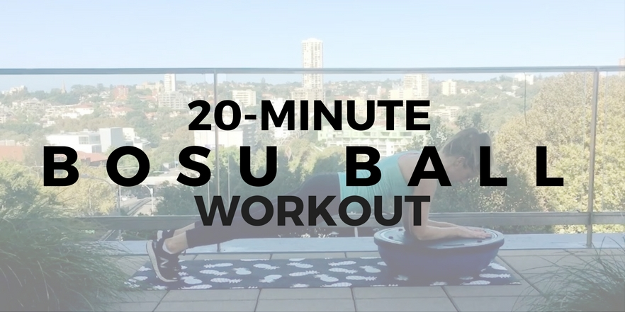 BOSU ball workout
