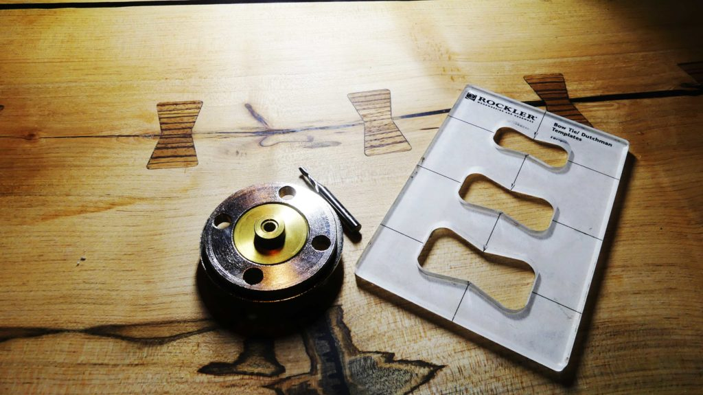 Bow Tie Joint Jig
