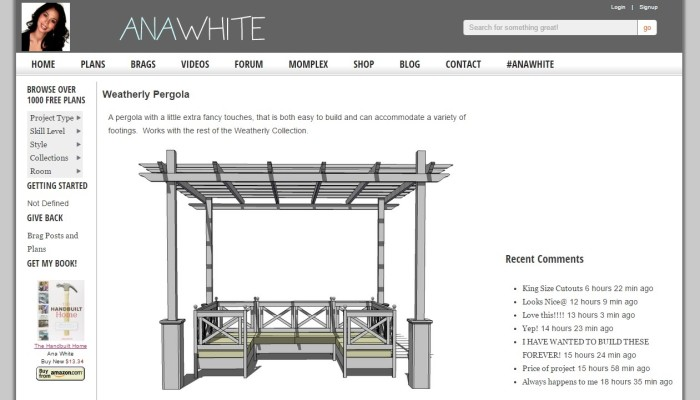 9 Best Guides To Build Pergola With New Plans And Designs