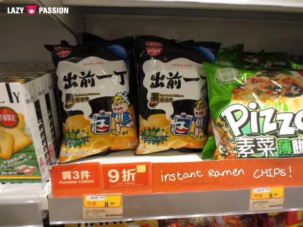instant ramen chips