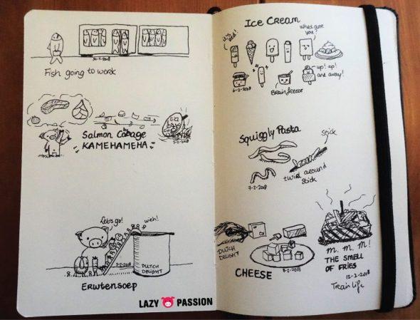 sketchbook lazypigpassion
