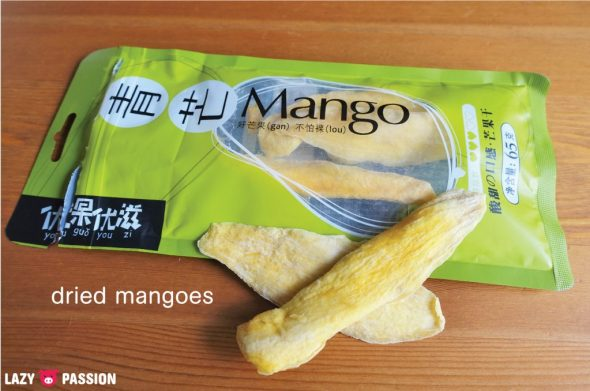 China dried fruit mango