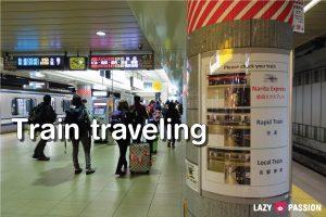 Japan Tips train