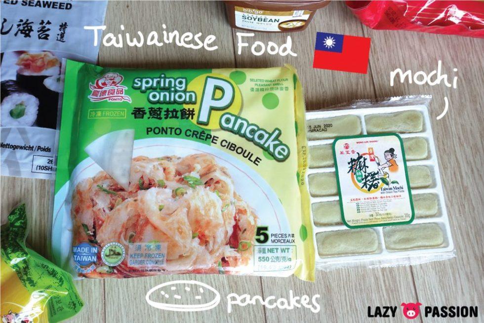 Amazing oriental haul Taiwanese food
