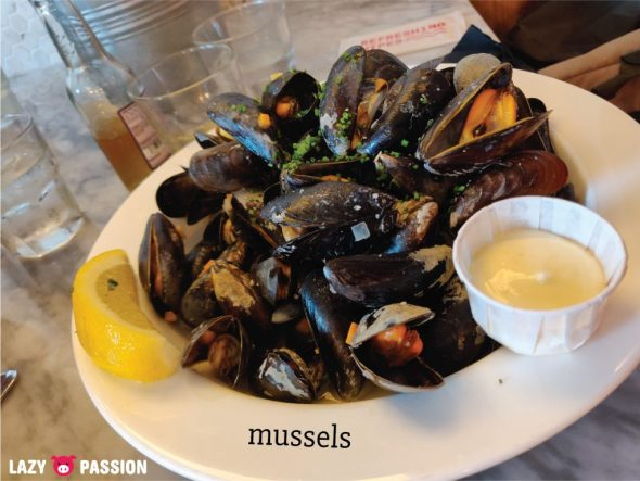 The Fish Market Rotterdam mussels