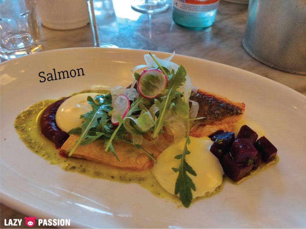 The Fish Market Rotterdam salmon