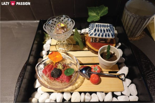 Japanese Cuisine Yama Early summer garden