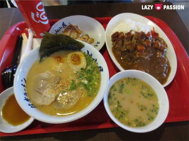 Japanese ramen and curry