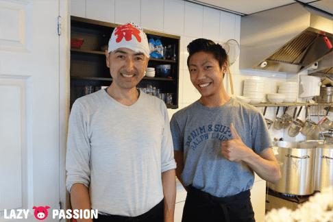 Yokohama Ramen Saito - chef