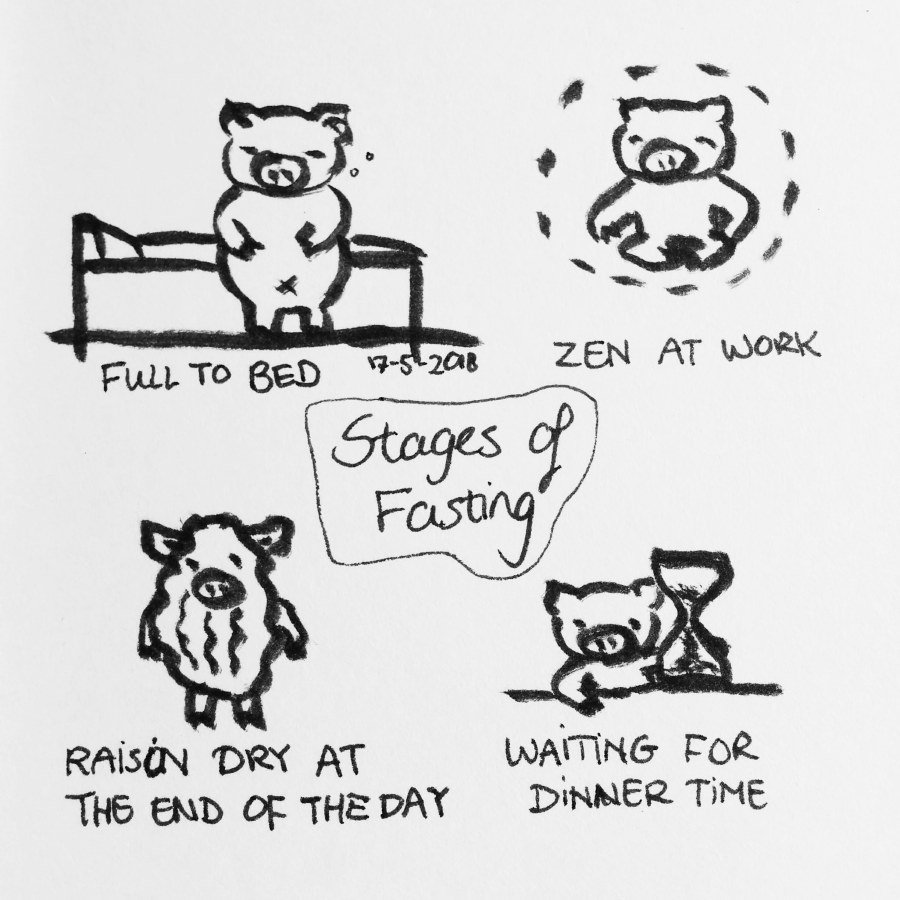 stages of fasting