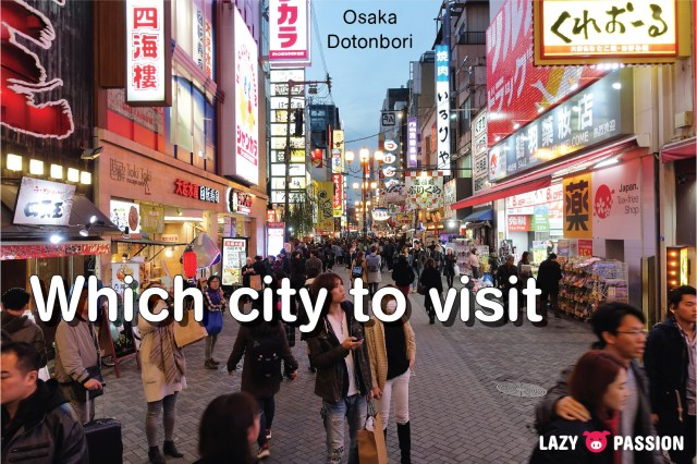 Japan Tips cities