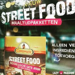 street food advertisement