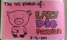 first logo lazypigpassion