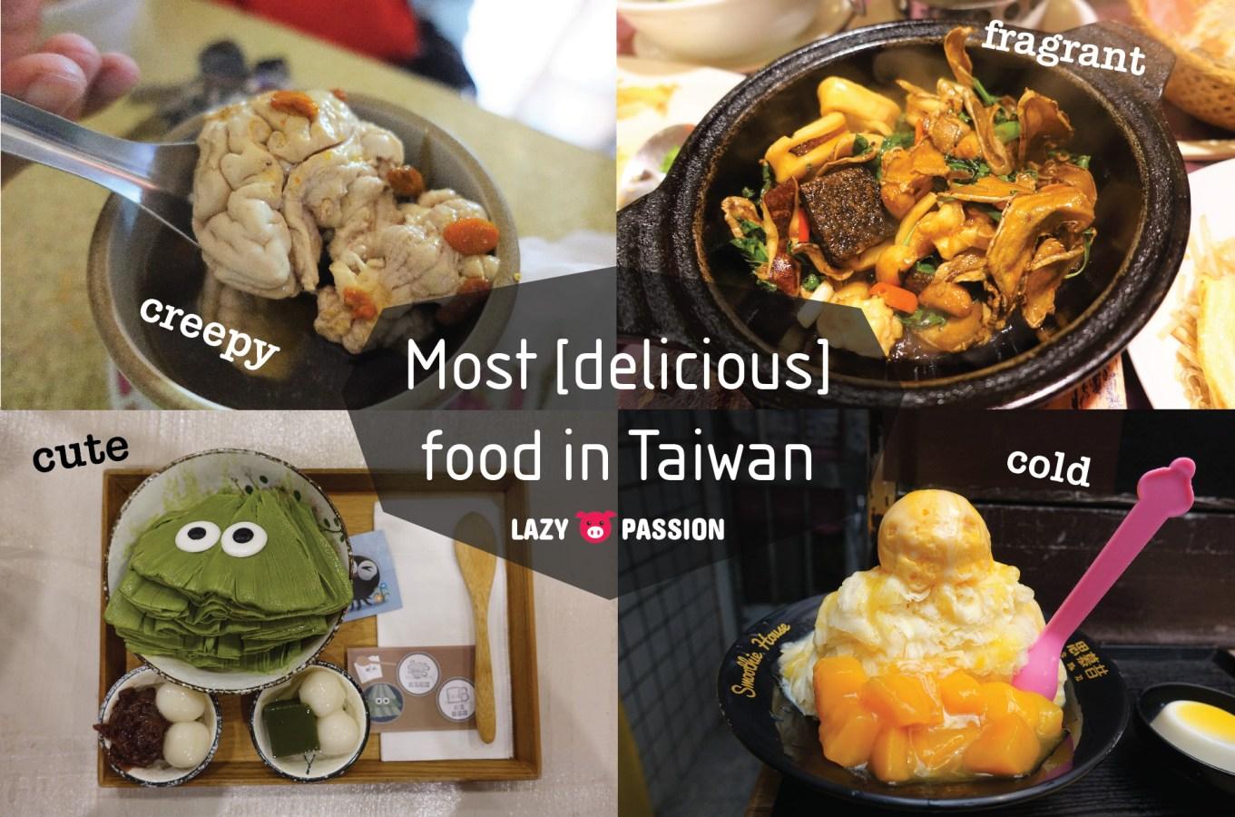 Taiwanese food Taiwan