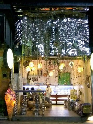 A lovely ice-cream parlor in Ubud
