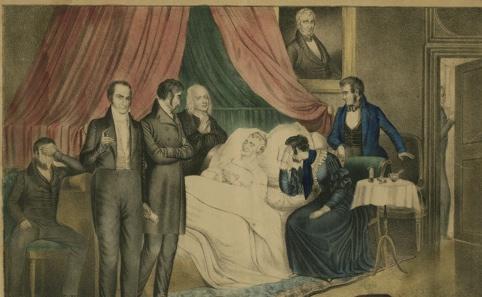 Death of Harrison, Susan H. Douglas Political Americana Collection, #2214 Rare & Manuscript Collections Cornell University Library Cornell University