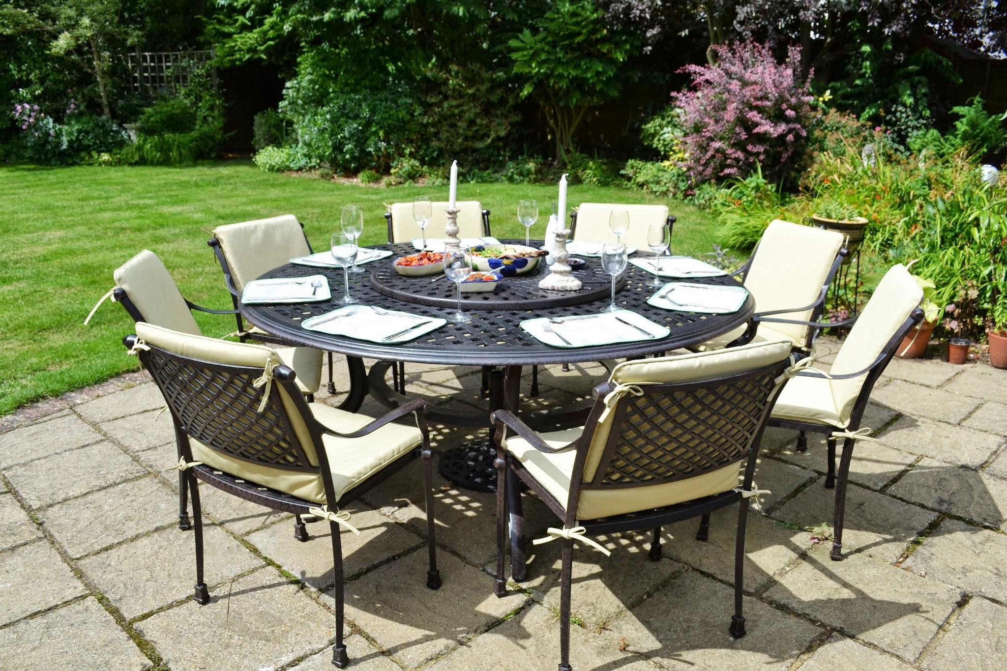 Comparatif tables de jardin  plateau tournant  Le Blog de Lazy Susan