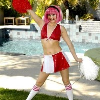 Stephanie is the hottest cheerleader in whole Lazy town!
