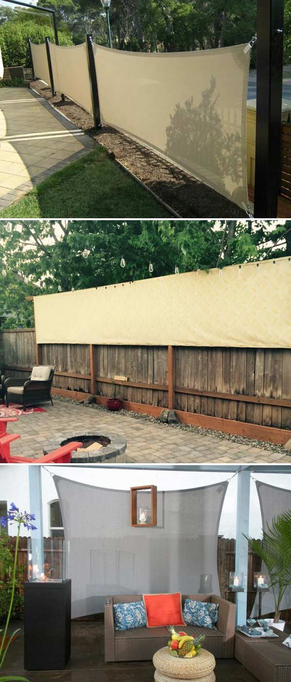 20 Cool Ideas For Getting Privacy In Summer Patio And Yard Lazytries