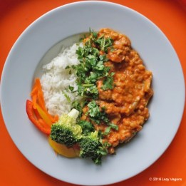 red lentil red curry