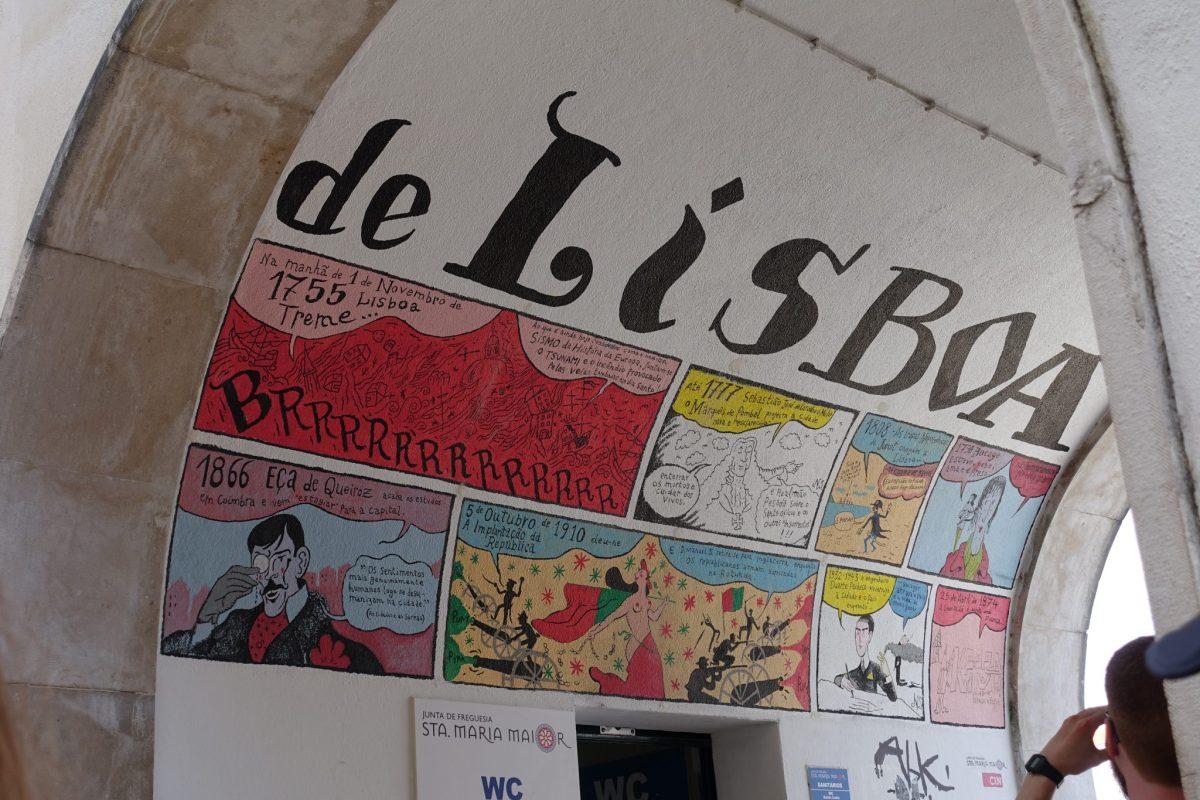 Lizbona - portugalski street art, tramwaje, restauracje i azulejos - galeria zdjęć