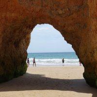 Portugalia - plaże obok Lagos - Praia dos Tres Irmaos [GALERIA]