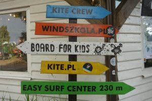 Chałupy VI, kemping nad Bałtykiem, kitesurfing na półwyspie