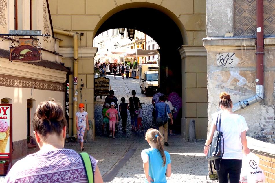 Lublin - brama grodzka