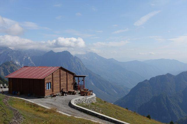 Albania, droga do Theth, Góry Przeklęte