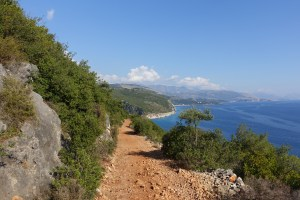 Albania, droga do Gjipe Beach