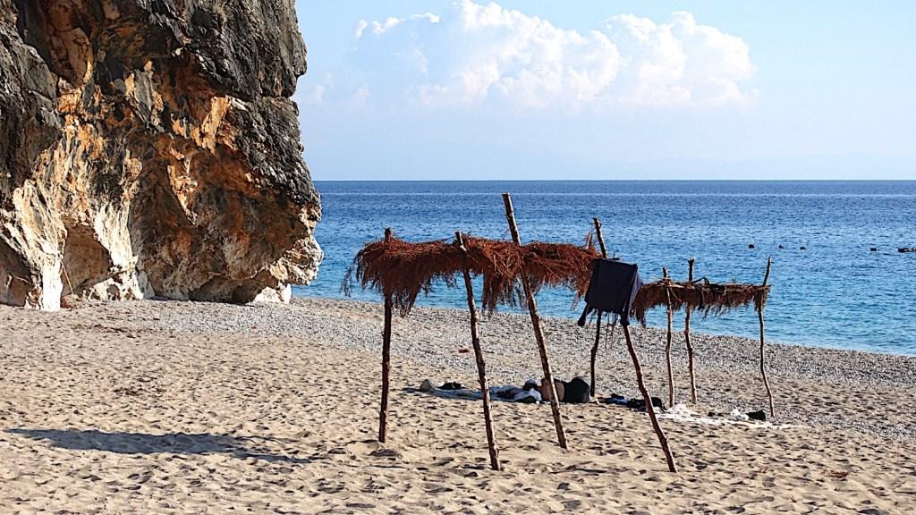 Albania, plaża Gjipe