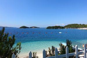 Albania, Ksamil, plaże Ksamil