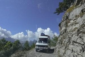 Albania, góry przeklęte, droga do Theth, drogi w Albanii