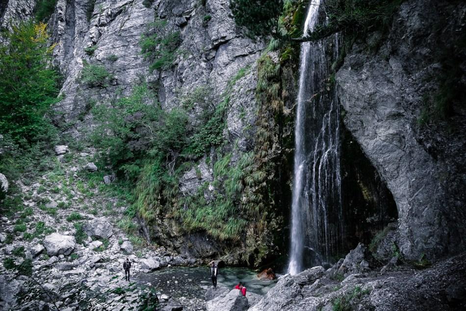 Theth Albania, Góry Przeklęte, Droga do Theth