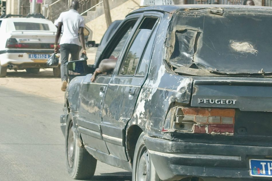 Paryż Dakar Senagal Peugeot