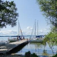 Port w Nowym Harszu - najbardziej wyluzowany port na Mazurach :)