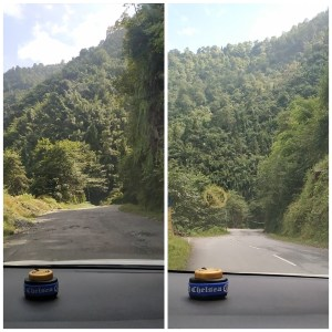 After leaving Gangtok (on the way to North Sikkim)
