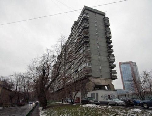 Московский дом осьминог
