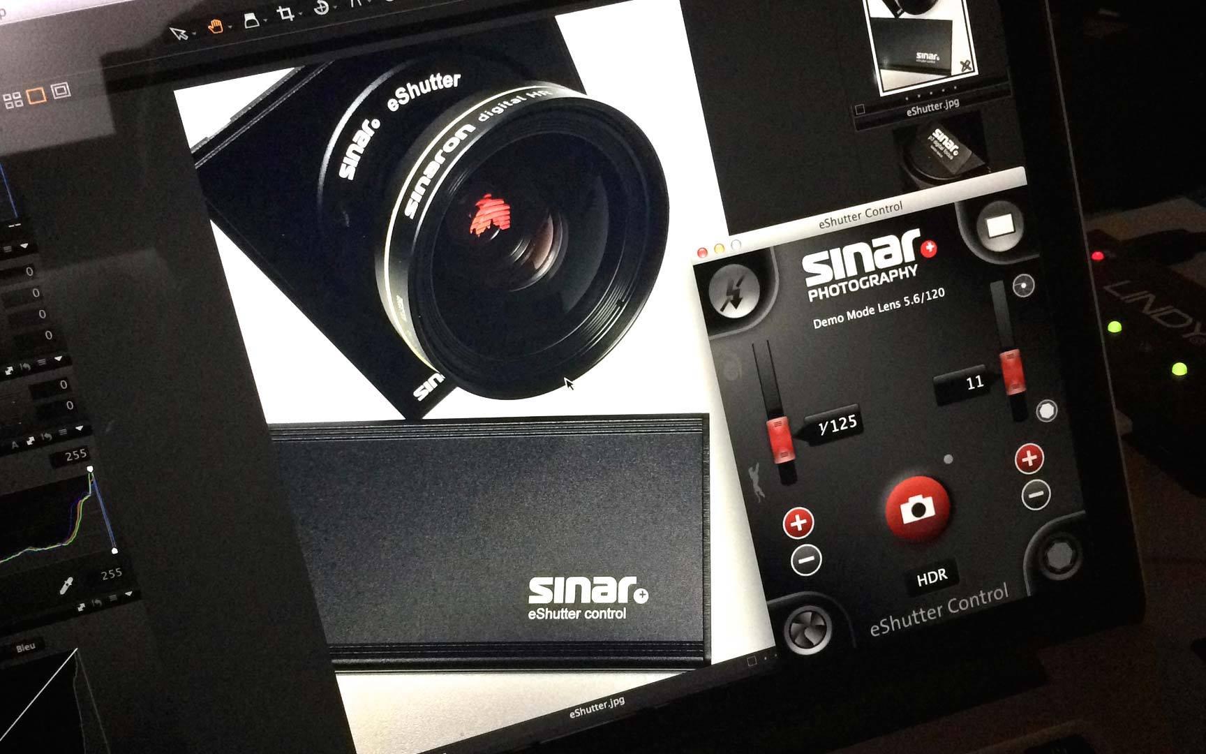 Système d'obturateur Sinar eShutter