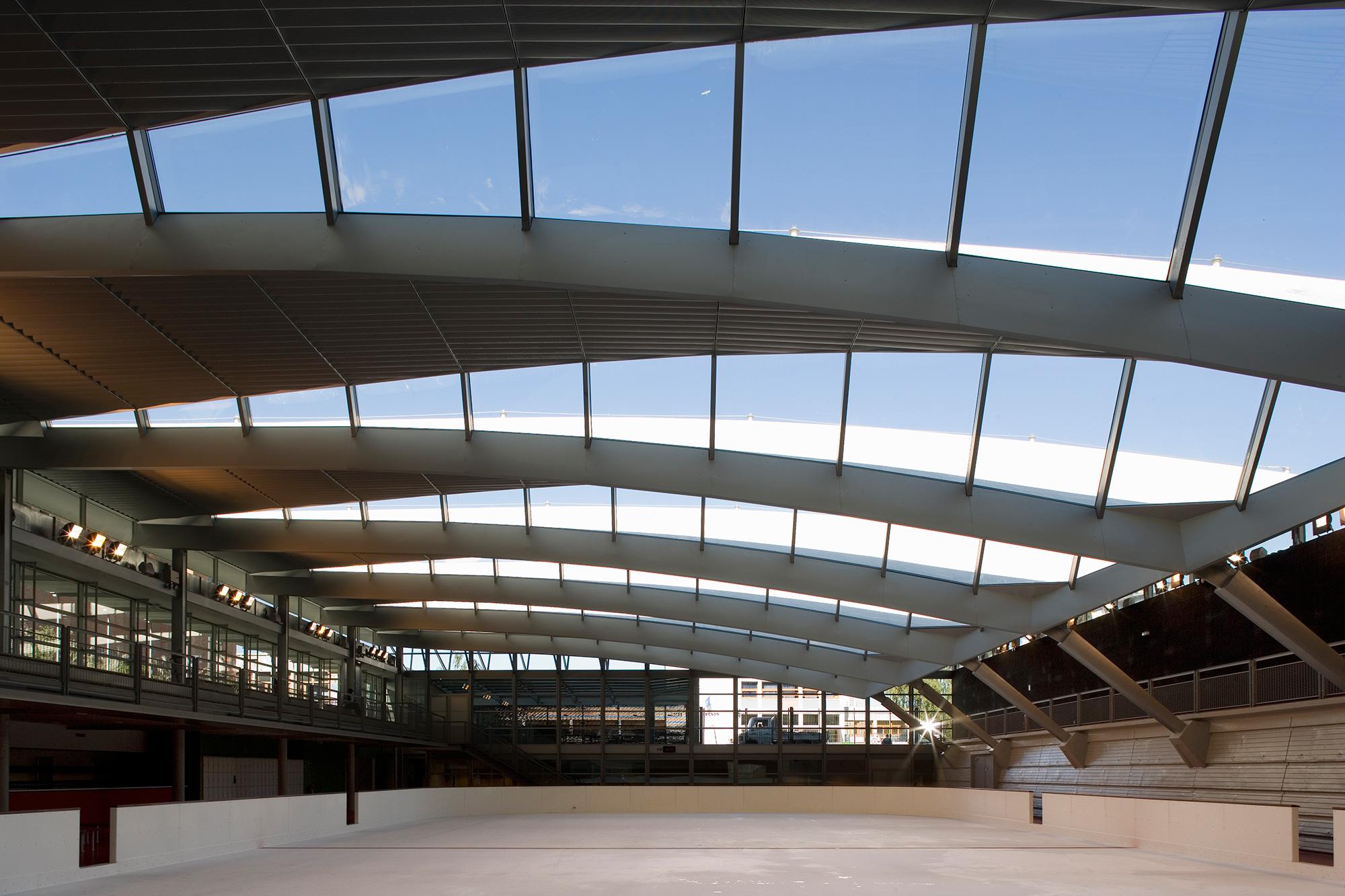 Piscine Pailleron  LBA Architecture et ingnierie