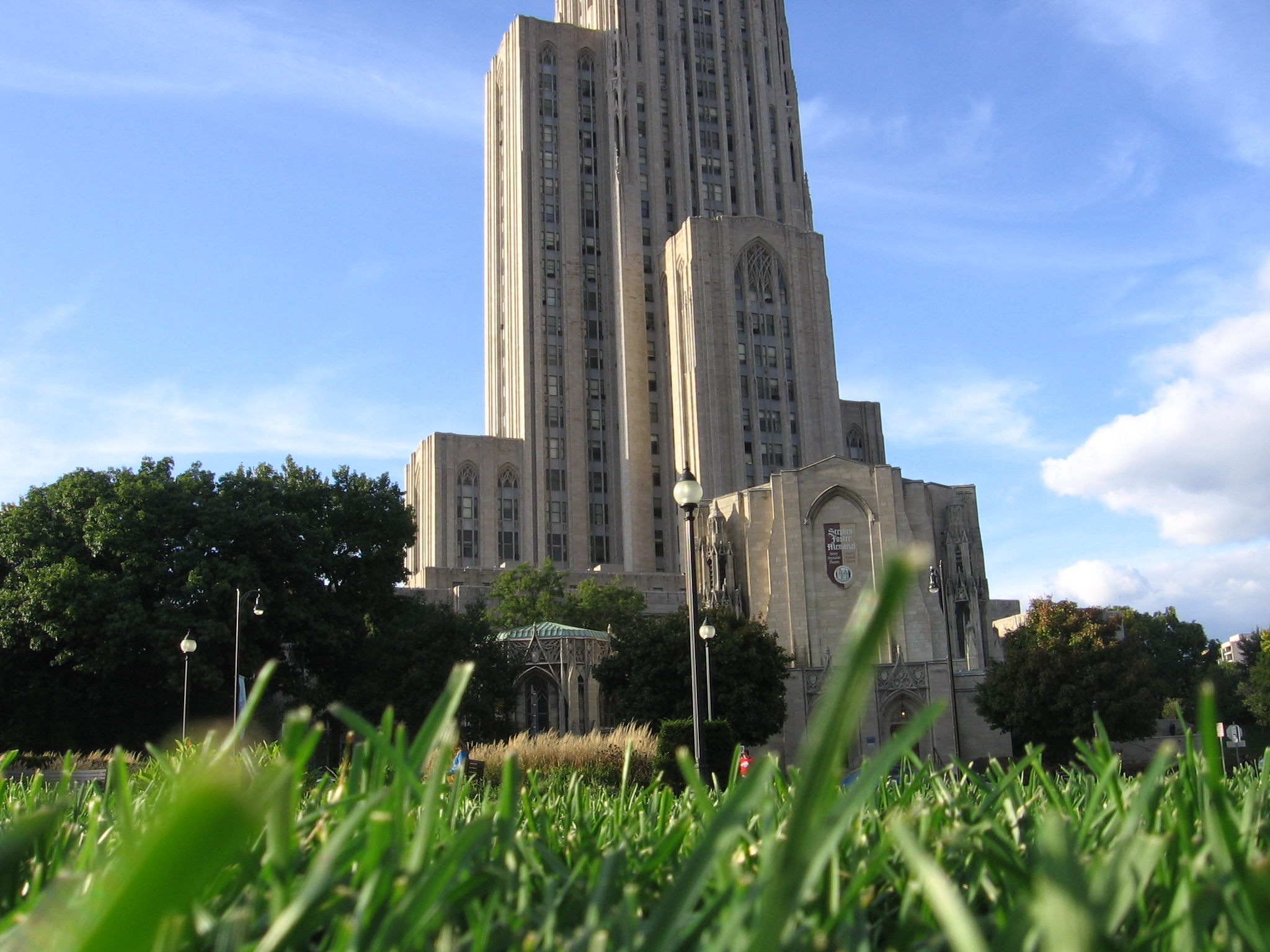 on the University of Pittsburgh, hanging out