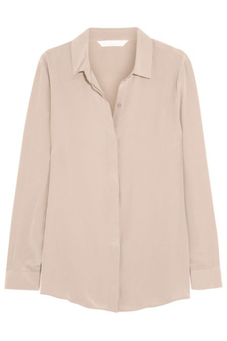 Staple blouse in a neutral color