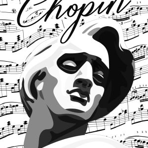affiche poster Frédéric Chopin